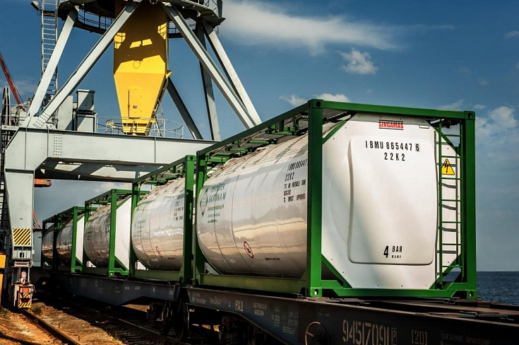 ADR-cargoes transportation using tank containers